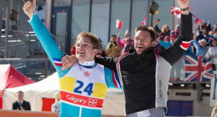 Hugh Jackman, Taron Egerton and Dexter Fletcher Talk 'Eddie The Eagle'
