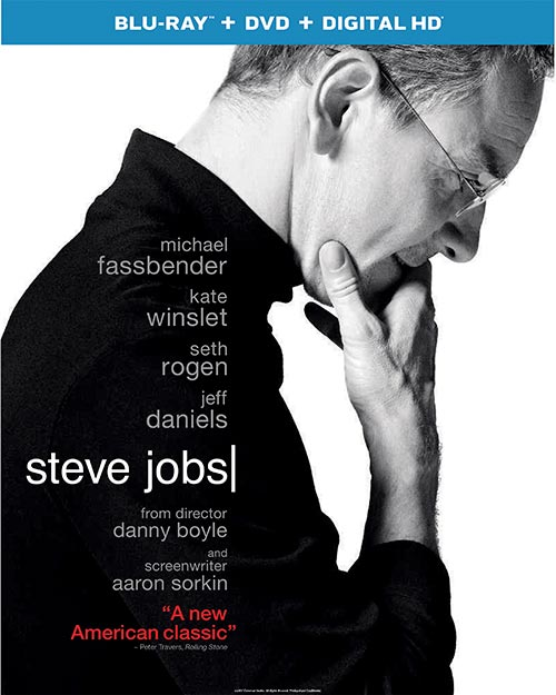 Steve Jobs blu-ray cover
