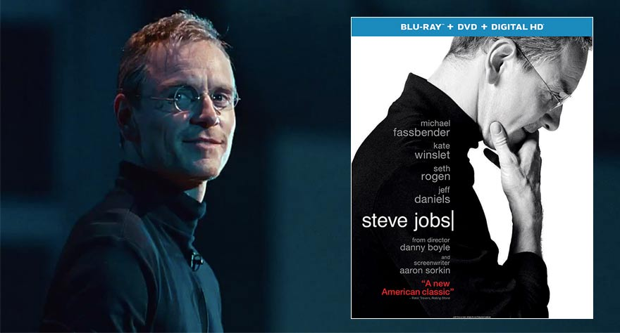 Giveaway: Oscar Nominated Biopic 'Steve Jobs' on Blu-ray