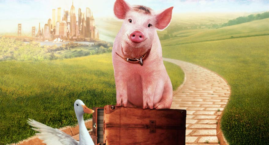 Babe: Pig in the City movie