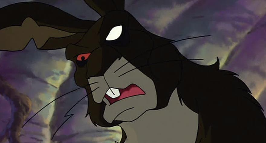 General Woundwort in Watership Down