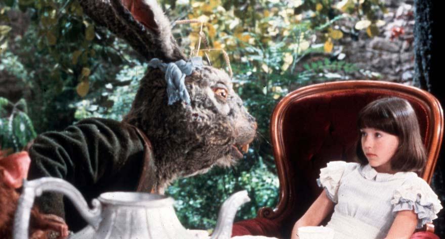 March Hare in Dreamchild