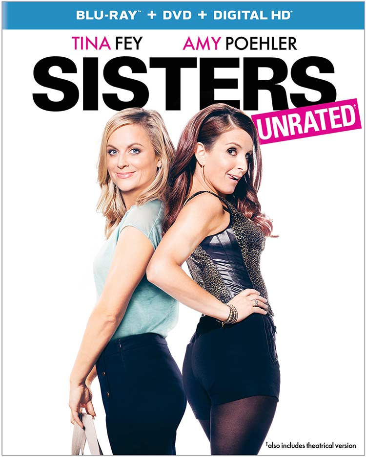 Sisters Bluray cover