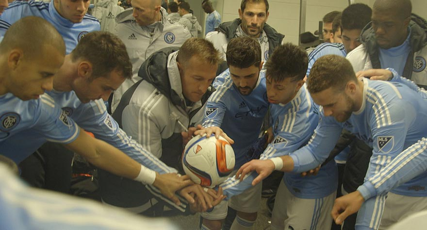 'Win!' Documentarian Justin Webster on Bringing Vérité-Style Filmmaking to NYCFC's Founding