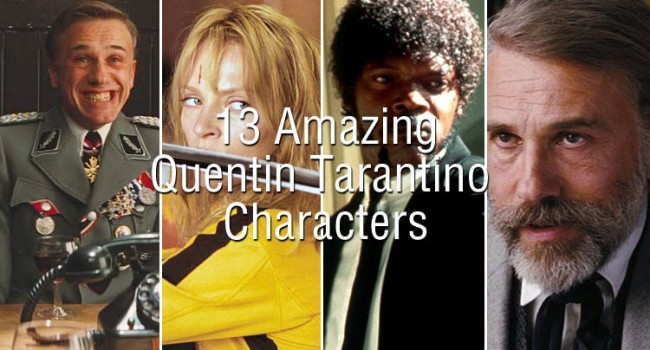 13 Amazing Quentin Tarantino Characters Features