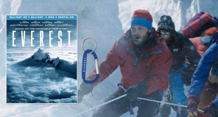 Giveaway: Climbing Adventure 'Everest' Starring Jake Gyllenhaal on Blu-ray and a Carabiner